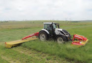 Make hay with the brainy Pöttinger Alpha Motion mower