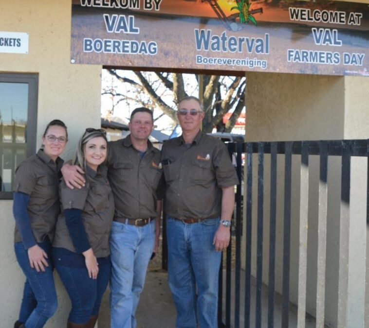 Val Farmer's Day is where farmers go to see implements perform